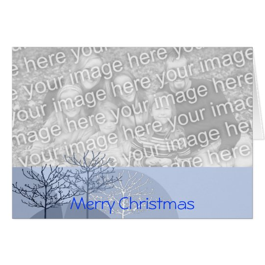 Merry Christmas Trees - Card