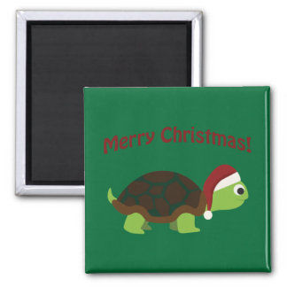 Merry Christmas! Turtle Refrigerator Magnets