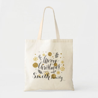 Merry Christmas. With Love. Tote Bag
