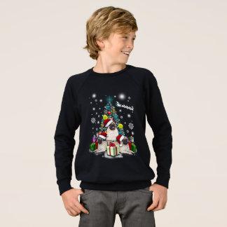 Merry Christmas with Pug Dog Animal Sweatshirt