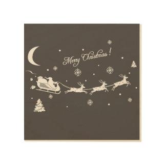 MERRY CHRISTMAS WOOD WALL ART