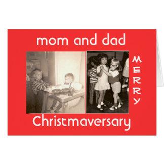Merry Christmaversary Card