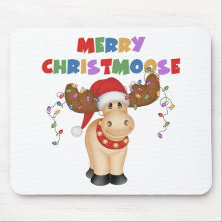 Merry Christmoose Christmas Gift Mouse Pads