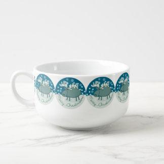 Merry Christmoose Soup Mug