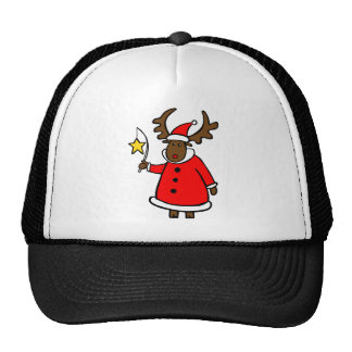 Merry ChristMoose Trucker Hat