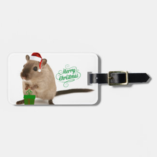 Merry Christmouse Bag Tag