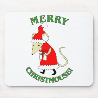 Merry Christmouse Mousepad