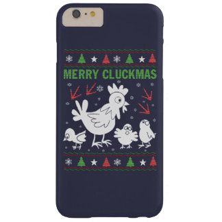 Merry Cluckmas Barely There iPhone 6 Plus Case