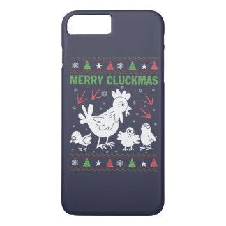 Merry Cluckmas iPhone 7 Plus Case