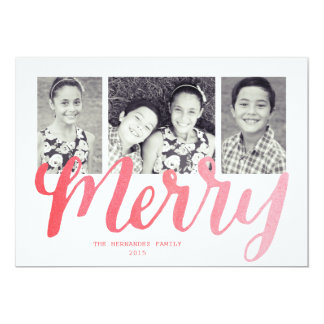 Merry Collection Card