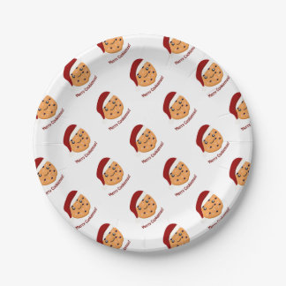 Merry Cookiemas 7 Inch Paper Plate