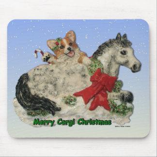 Merry Corgi Christmas! Mouse Pad