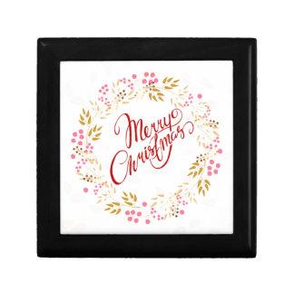 Merry Cristmas Wreath Gift Box