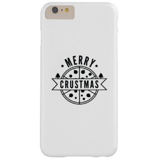 Merry Crustmas Barely There iPhone 6 Plus Case