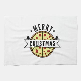 Merry Crustmas Tea Towel