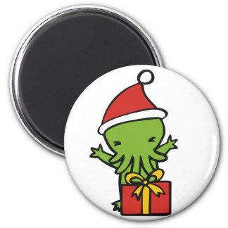 Merry Cthulmas Magnets