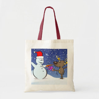 Merry Fencing ! Tote Bags