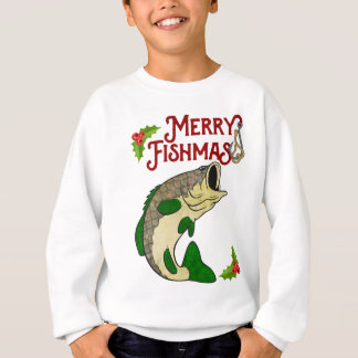 Merry Fishmas Fishing Christmas Shirt