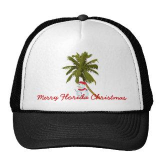 Merry Florida Christmas Cap