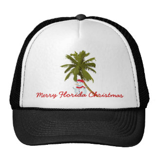 Merry Florida Christmas Hat