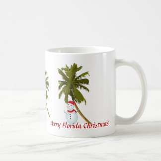 Merry Florida Christmas Coffee Mugs