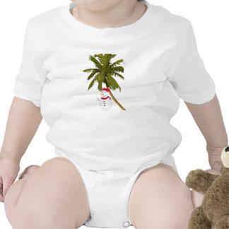 Merry Florida Christmas Baby Bodysuit