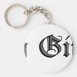 Merry Giftmas! Key Ring