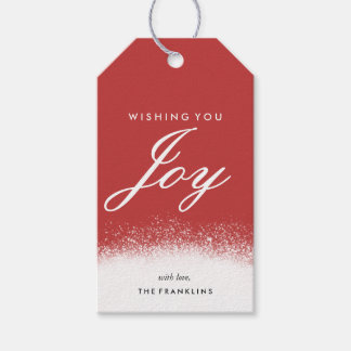 Merry Glow Holiday Gift Tags