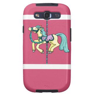 Merry Go Round carousel Pony Galaxy SIII Covers