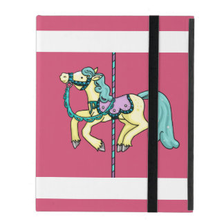 Merry Go Round carousel Pony iPad Cover