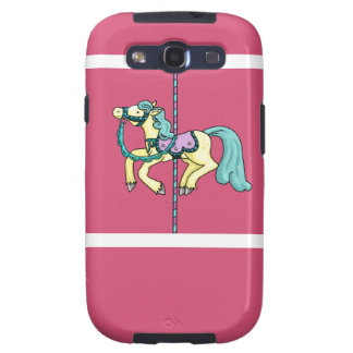 Merry Go Round carousel Pony Samsung Galaxy S3 Cases