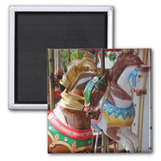 Merry-Go-Round Horses Refrigerator Magnet