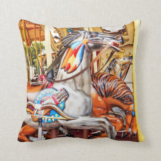 Merry-go-round painted pony carousel series 34 cushion
