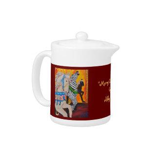 Merry Go Round Teapot