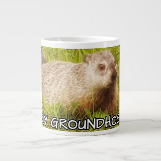 Merry Groundhog Day mug