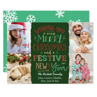 Merry Happy Holiday Season Card