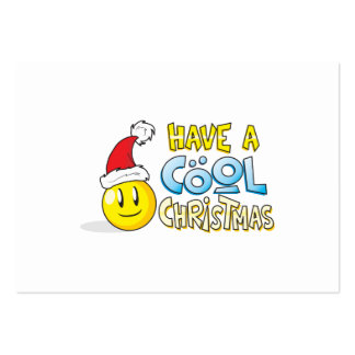 Merry Have a Cool Christmas Invites Poster Stamps Business Card Template