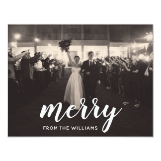 Merry - Holiday Photo Cards