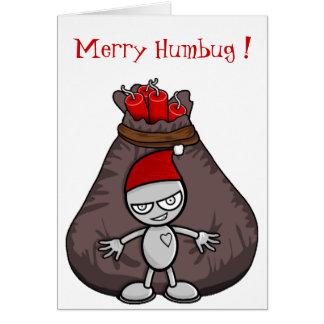 Merry HumBug Christmas Card