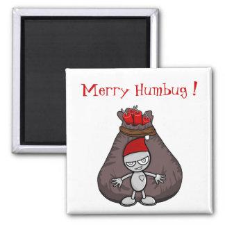 Merry HumBug Christmas Magnet