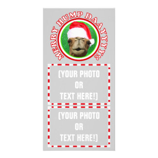 Merry Hump Day Camel Christmas 2013 Photo Cards