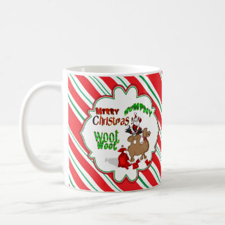 Merry Hump Day Camel Christmas Candy Cane Woot Coffee Mug