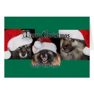 Merry Keesie Christmas! Card