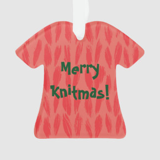 Merry Knitmas Ornament
