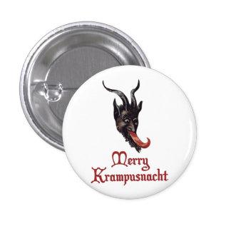 Merry Krampusnacht 3 Cm Round Badge