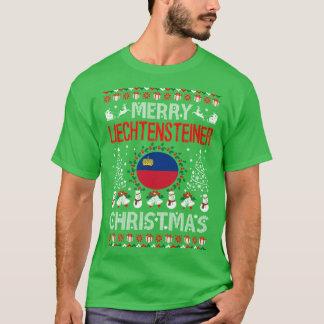 Merry Liechtensteiner Country Christmas Ugly Shirt