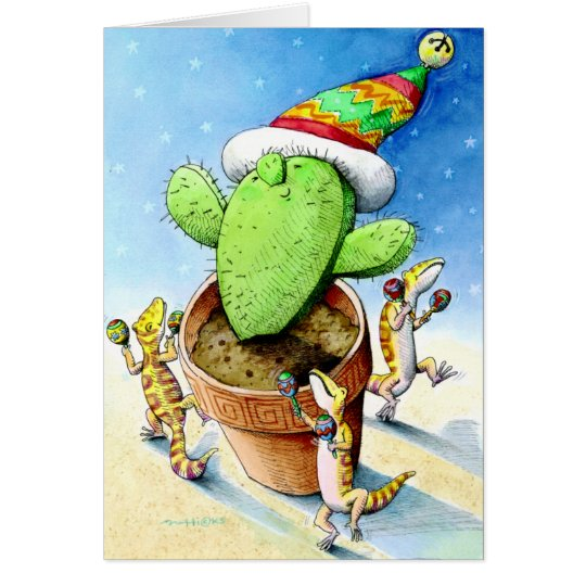 Merry Little Cactus Card