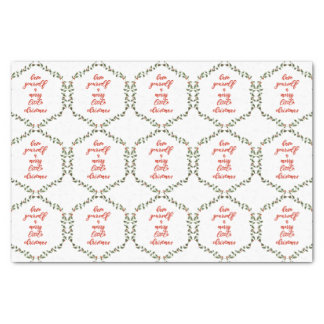 Merry Little Christmas - Holly Wreath Tissue Paper