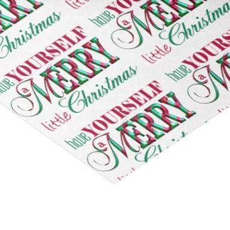 Merry Little Christmas MLCa Tissue Paper