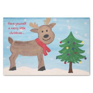 Merry Little Christmas Tissue Paper